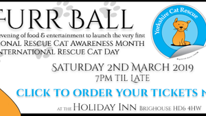 Yorkshire Cat Rescue charity Ball 2 march 2019