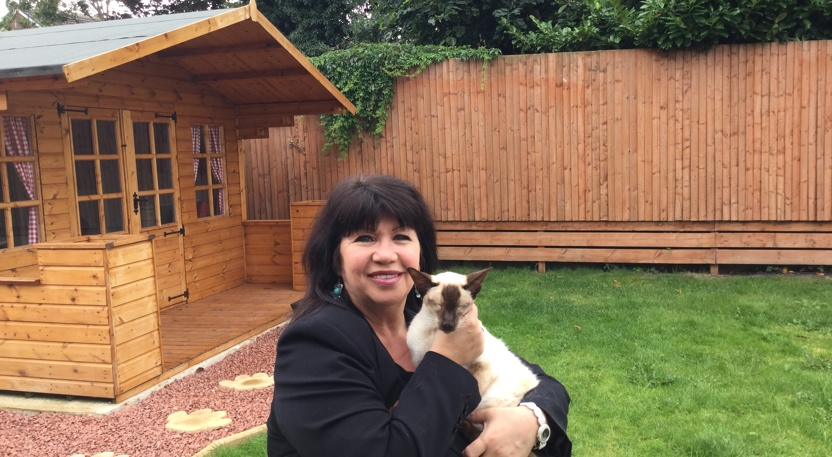 Milly Johnson Patron of Yorkshire Cat Rescue