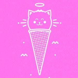 Because cats - single card - M E 0 W