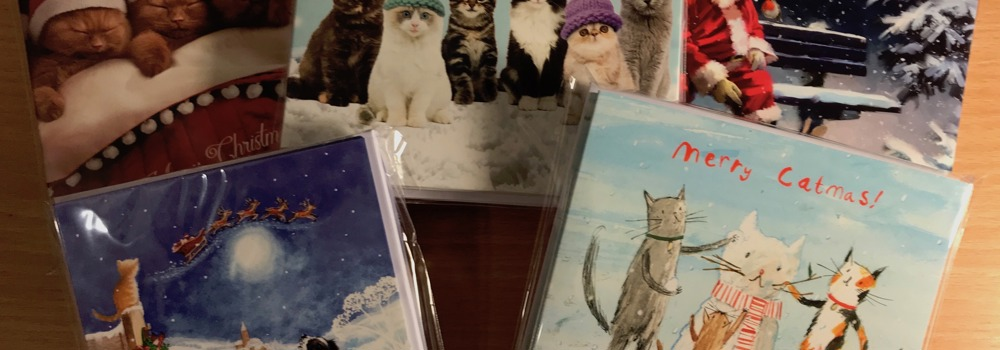 Christmas cards from Yorkshire Cat Rescue