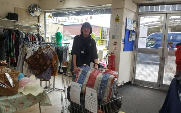 Yorkshire Cat Rescue Keighley Charity shop manager vacancy