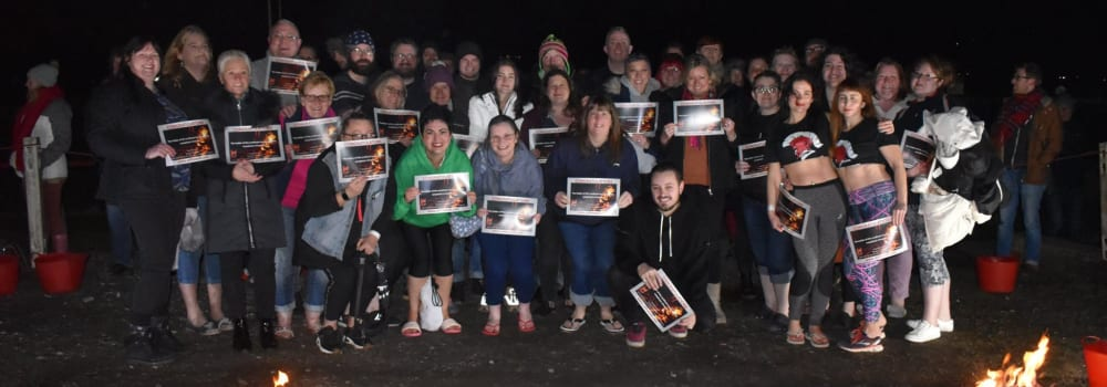 Yorkshire Cat Rescues charity Firewalk!